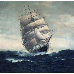 The Romance of Sail Clipper Cutty Sark Print