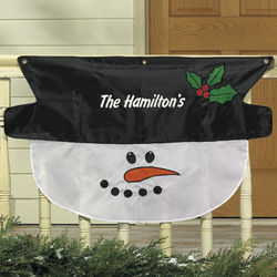 Personalized Snowman Bunting