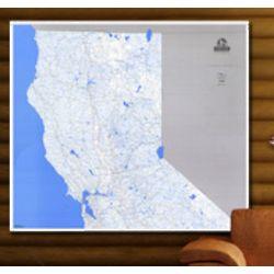 Northern California Lake & Stream Map