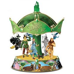 The Wizard of Oz Porcelain Carousel Music Box