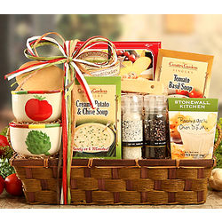 Soup Mix Gift Basket