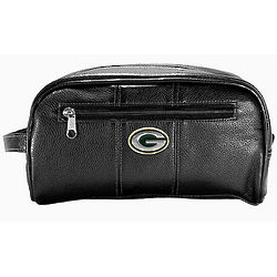 Green Bay Packers Black Dopp Kit