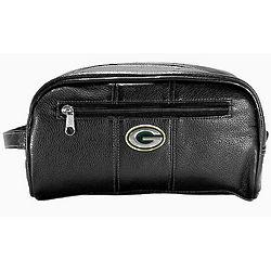 Green Bay Packers Black Dopp Kit
