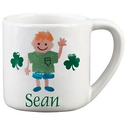 Personalized Irish Kid's Mug