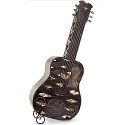 Lone Star Acoustic Guitar Wine Cork Holder