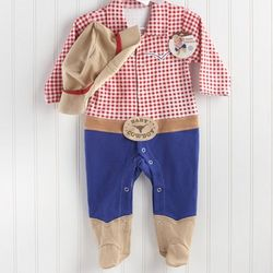 Baby Cowboy or Cowgirl Layette Gift Set
