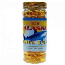 Alaska Omega 3, 6, 9 Fish Oil Diet Supplement