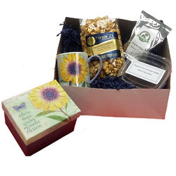 Hope Blooms Popcorn, Coffee and Mug Gift Box