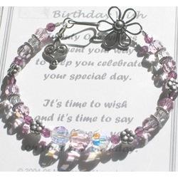 21st Birthday Wish Bracelet