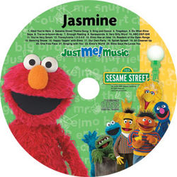 Personalized Elmo Music CD
