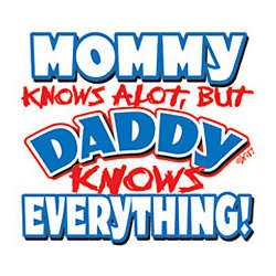 Daddy Knows Everything Youth T-Shirt