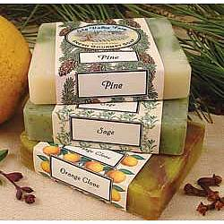 Winter Soap Trio