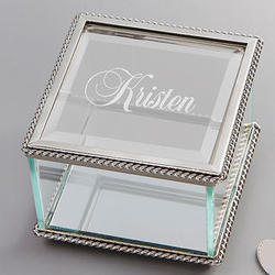 Beautiful Reflections Personalized Jewelry Box