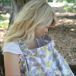 Hooter Hiders Siena Nursing Cover with Ruffle