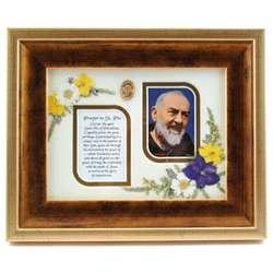 Framed Prayer to St. Pio