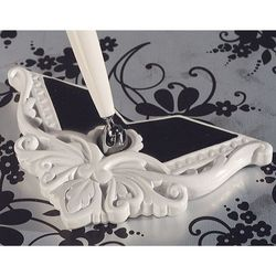 Black and White Collection Wedding Pen Set