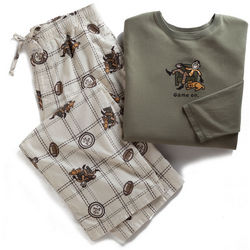 Life is Good Men's Game On Pajama Set