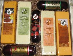Deluxe Cheese and Sausage Assortment Gift Box
