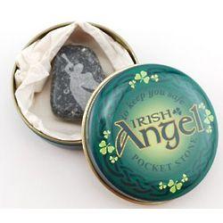 Kilkenny Marble Angel Pocket Stone
