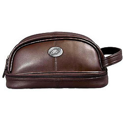 Philadelphia Eagles Leather Travel Kit