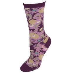 Kimono Floral Trouser Socks