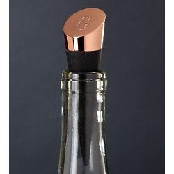 Highborn Personalized Copper Wine Bottle Stopper