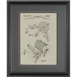 Disk Drive Patent Art Replica Print