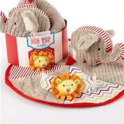 Big Top Baby Plush and Lovie Gift Set