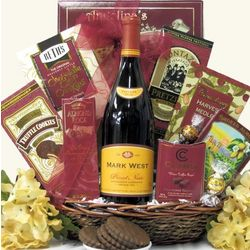 Mark West Pinot Noir Wine Gift Basket