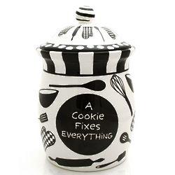 Cookies Fix Everything Cookie Jar