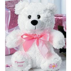 Flower Girl Teddy Bear