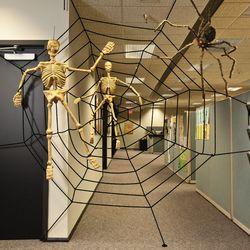 Large Spiderweb Halloween Decoration