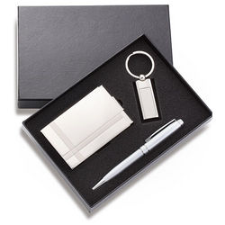 Personalized Business Card Case Gift Set
