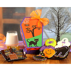 Spooky Cookie and Chocolate Gift Box