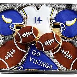 Go Vikings Cookie Gift Tin