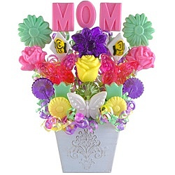 Celebrating Mom Lollipop Bouquet