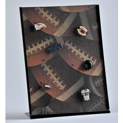 Football Magnetic Photo Collage Frame