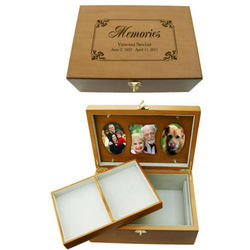 Personalized Remembrance Memory Box