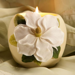 Magnolia Votive Candle Holder