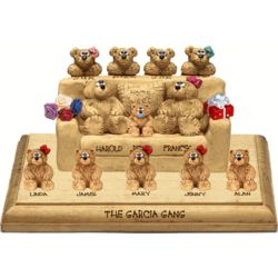 25th Anniversary Chair for Bear Couples with up to 12 Kids