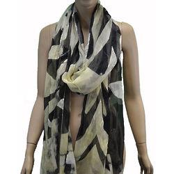 Italian Silk Multi Color Scarf Wrap