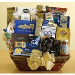 Gourmet Savories and Sweets Gift Basket