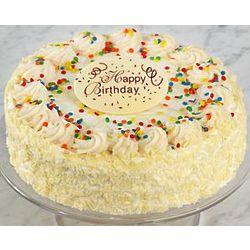 Happy Birthday Vanilla Bean Cake