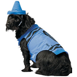 Crayola Blue Pet Costume