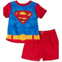 Superman Toddler Caped Pajama Set