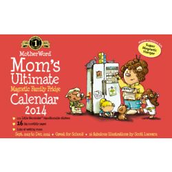 Mom's Ultimate Magnetic Family Fridge Calendar