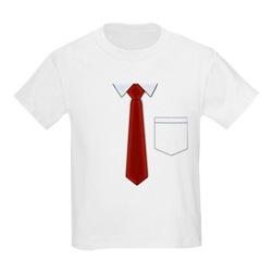 Just Like Dad Kids Shirt and Tie T-Shirt