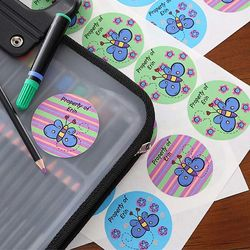 Beautiful Butterfly© Personalized Stickers