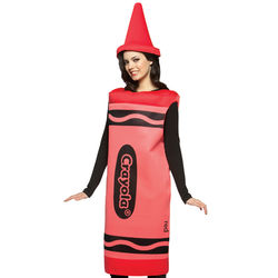 Red Adult Crayola Crayon Costume