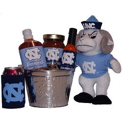University of North Carolina Tailgate Grilling Gift Basket